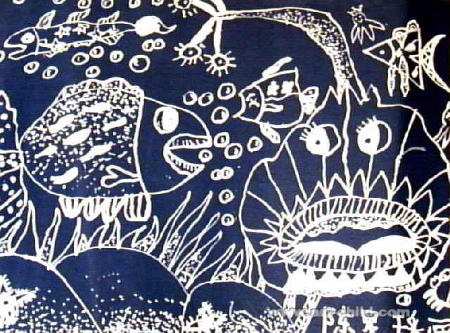 海洋世界儿童画9幅(第5张)