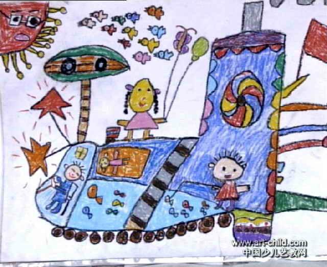 猴年儿童画展示图片
