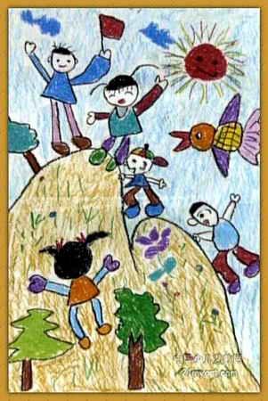 我第一儿童画2幅