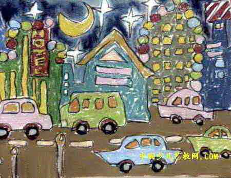 儿童简笔画热闹的集市内容|儿童简笔画热闹的集市图片