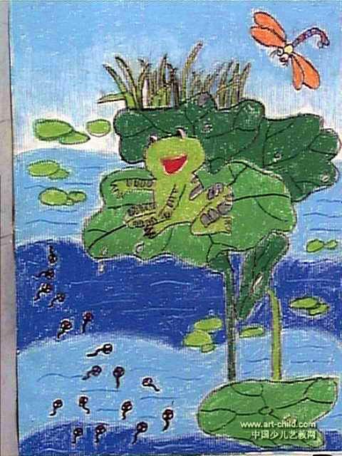 小青蛙找妈妈图片_【第二册小青蛙找妈妈】小学一年级语文课件