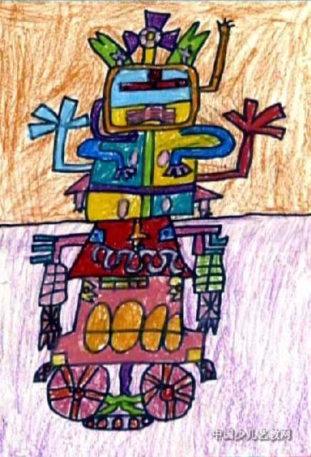 多功能房子儿童画