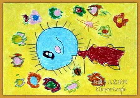 我的梦想儿童画(二)5幅(第4张)