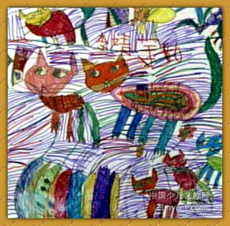 上一页下一页         未来海洋乐园儿童画           我家的玉米
