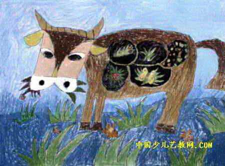 牛胃图片 结构图