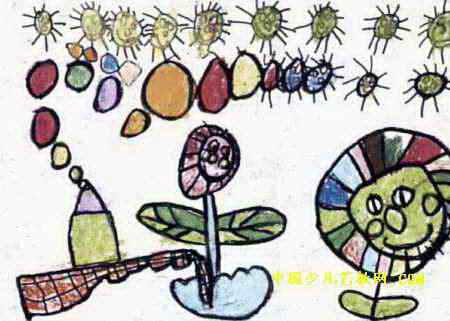 太阳工场儿童画属于油画棒画