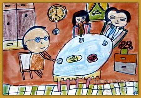 我的家儿童画(四)8幅(第5张)图片