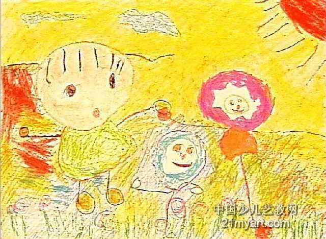 吃棒棒糖的图片儿童画 星空儿童画图片 吃虫草儿童画图片 吃棒棒糖的