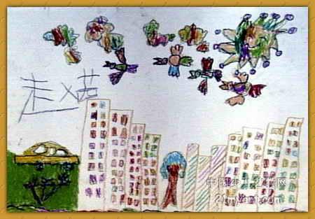 我的家乡儿童画15幅 第14张