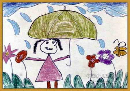 王涛儿童画展示图片
