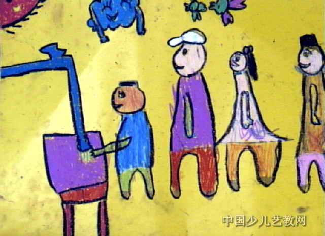 预防传染病儿童画作品欣赏