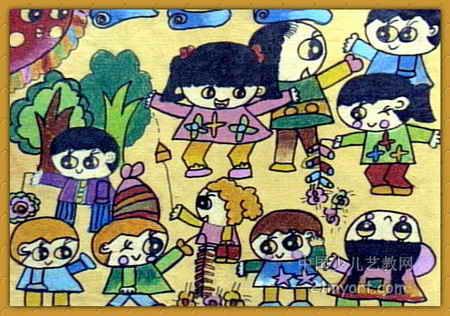 上一页下一页         椰子树油画棒儿童画           外星人儿童画1