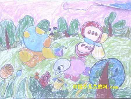 保护环境儿童画12幅 第9张