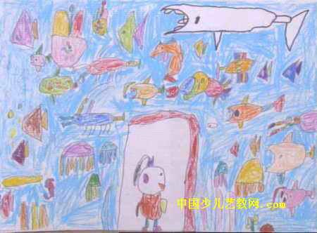 三年级写事作文范文:参观海洋馆