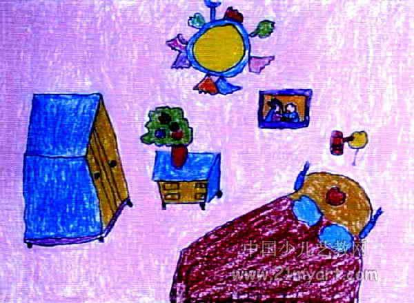 我的家儿童画(三)8幅