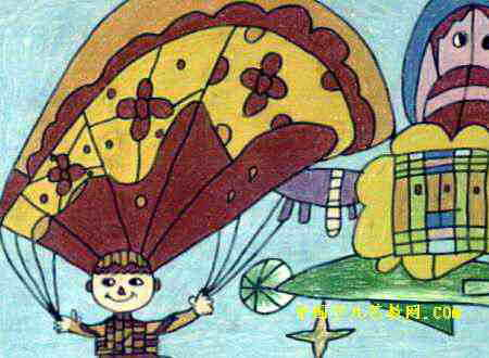 我游星空儿童画