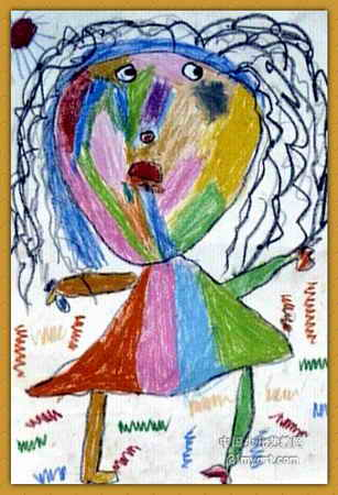 我的老师儿童画9幅(第6张)