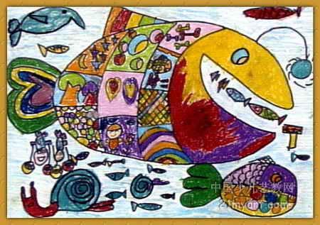 大海博物馆儿童画