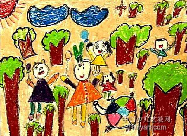 保护环境儿童画12幅 第8张