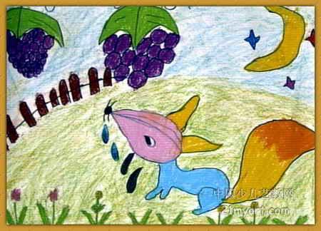 儿童画 儿童油画棒画;