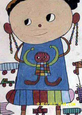 儿童画马步骤