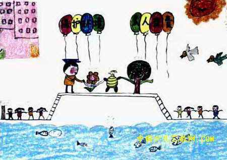 保护环境儿童画12幅(第10张)
