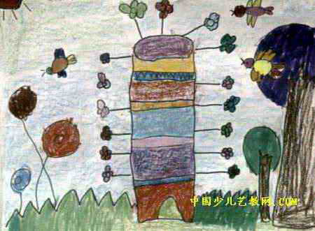 神奇的房子儿童画10幅(第8张)