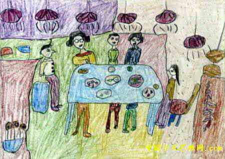 关于新年的儿童画_新年儿童画简笔画图
