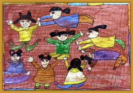 儿童画 游戏截图 450_315图片