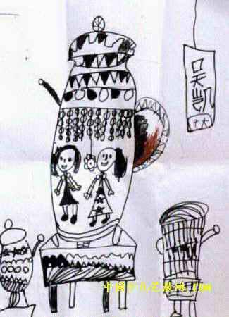 花瓶儿童画 三 7幅 第2张图片