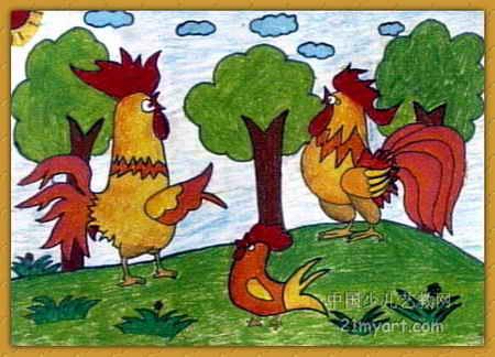 对歌儿童画小学太平普兰店图片