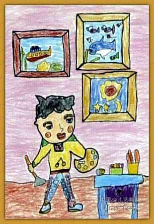 小画家儿童画