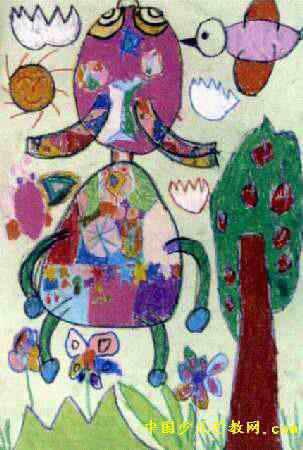 儿童数字想象画,儿童创意数字画,儿童 图形想象画_点 ...