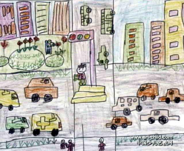 我的家乡儿童画15幅 第6张