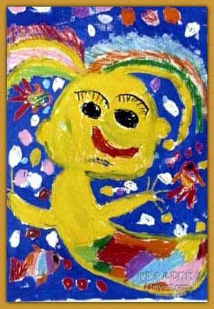 人鱼公主儿童画