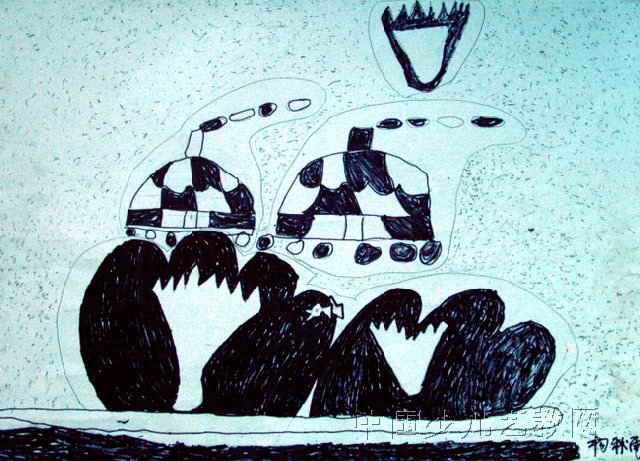 我的家乡儿童画15幅
