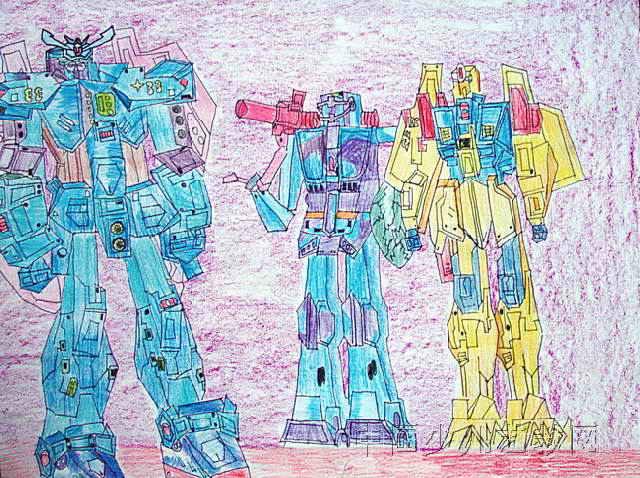机器人儿童画15幅 第13张