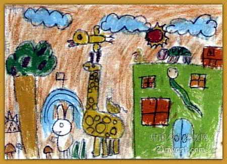 美丽的春天儿童画15幅