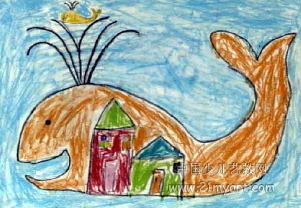 我的家儿童画 一 8幅 第7张