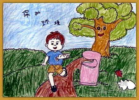 保护环境儿童画12幅(第5张)