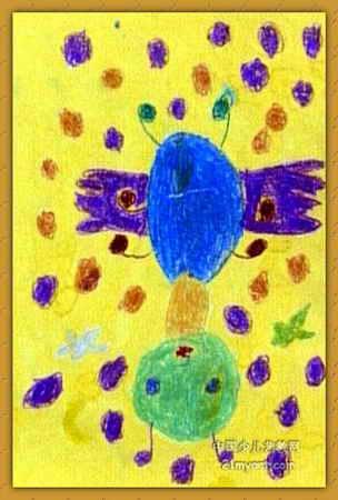 简笔画 热门儿童油画棒画图片