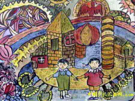 2035年的鹤山儿童画