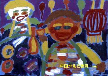 酒鬼——爸爸儿童画