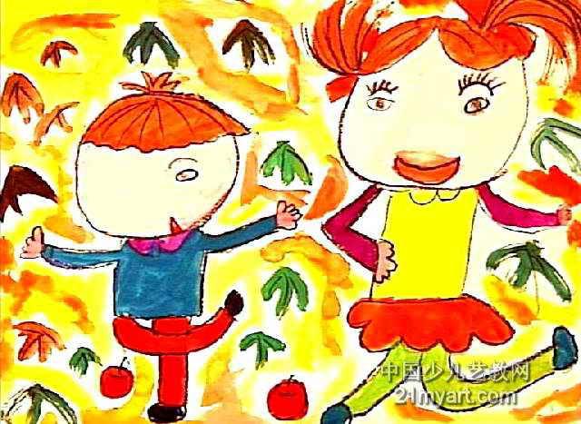 好朋友儿童画 五 8幅 第7张