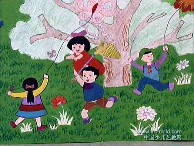 描写儿童活泼可爱的诗