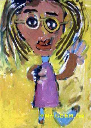 我的妈妈儿童画(三)5幅(第3张)