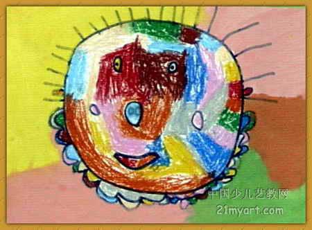 我的妈妈儿童画(三)5幅(第4张)