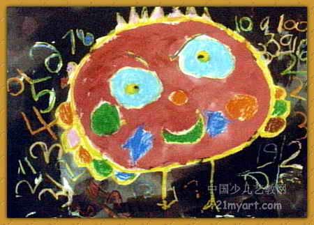 数学宝贝儿童画