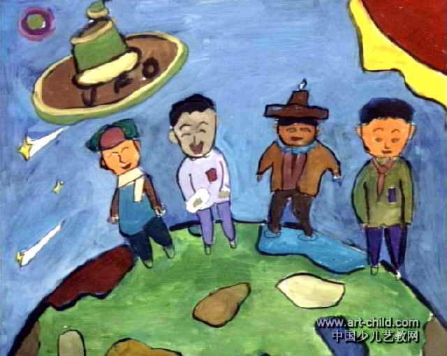 保护地球的儿童图画_画画大全