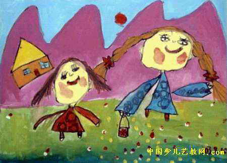 3岁幼儿画